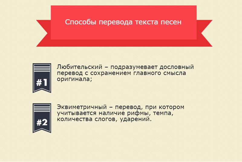 Как переводить песни самостоятельно: 2 способа перевода
